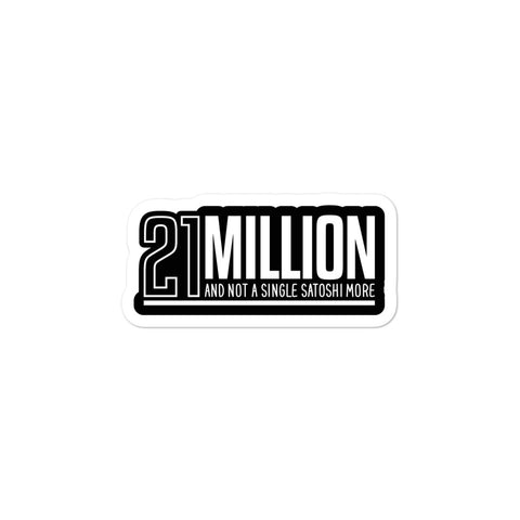 21 Million - Stickers