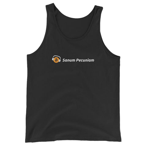 Sanum Pecuniam (Sound Money) - Unisex Jersey Tank with Tear Away Label