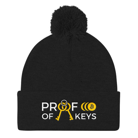 Proof Of Keys - Pom Pom Knit Cap