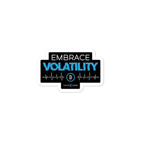 Embrace Volatility - Stickers