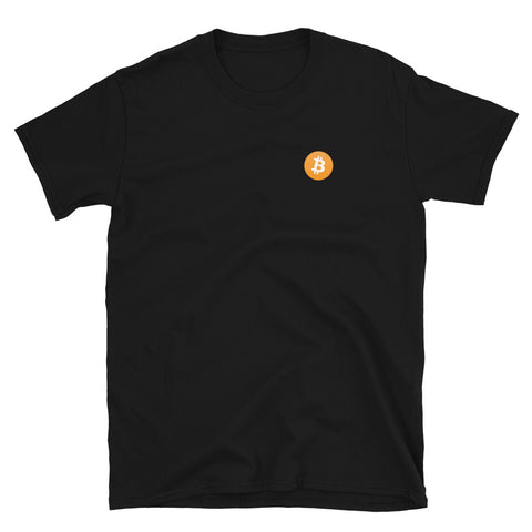 Simply just the bitcoin logo - Short-Sleeve Unisex T-Shirt