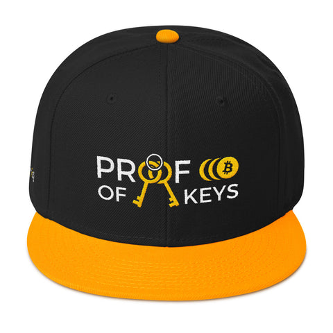 Proof Of Keys - Snapback Hat