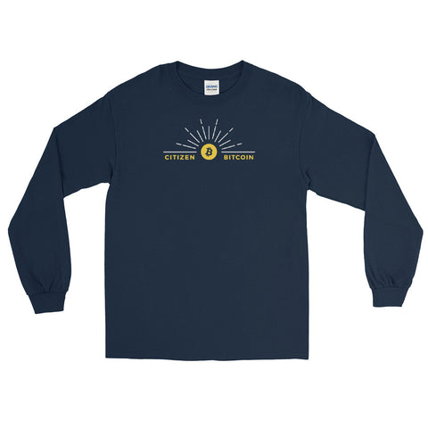 Citizen Bitcoin - Long Sleeve T-Shirt