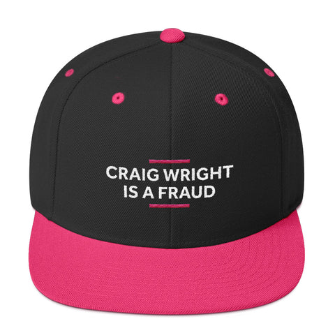 Fraud - Snapback Hat