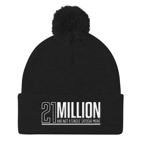 21 Million - Pom Pom Knit Cap