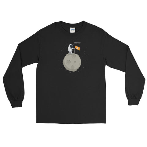 Bitcoin Moonman - Long Sleeve T-Shirt