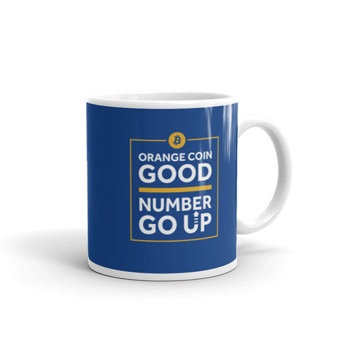 Orange Coin Good - Mug