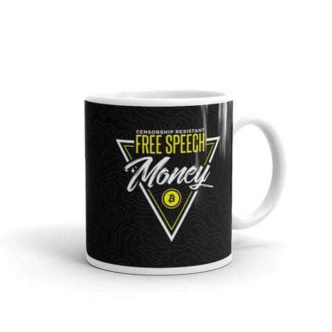 Free Speech Money - Mug