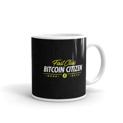 First Class Bitcoin Citizen - Mug