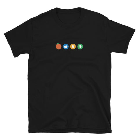 Orange Coin Good OPSEC - Short-Sleeve Unisex T-Shirt