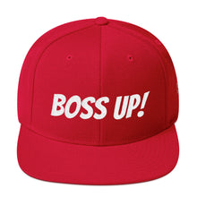 "Load image into Gallery viewer, ""Boss Up!"" Hitmen Snapback Hat"