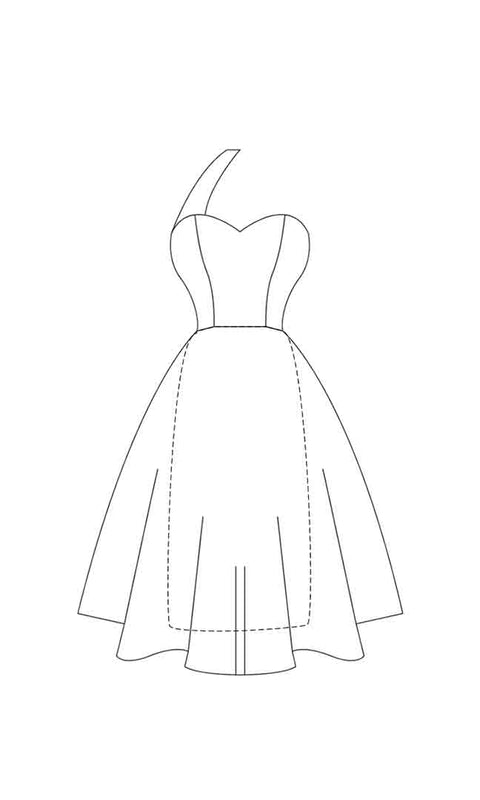 Audrey Dress A0 PDF