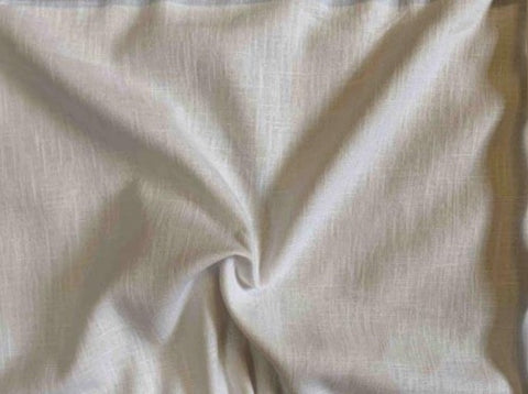 White mid weight Linen