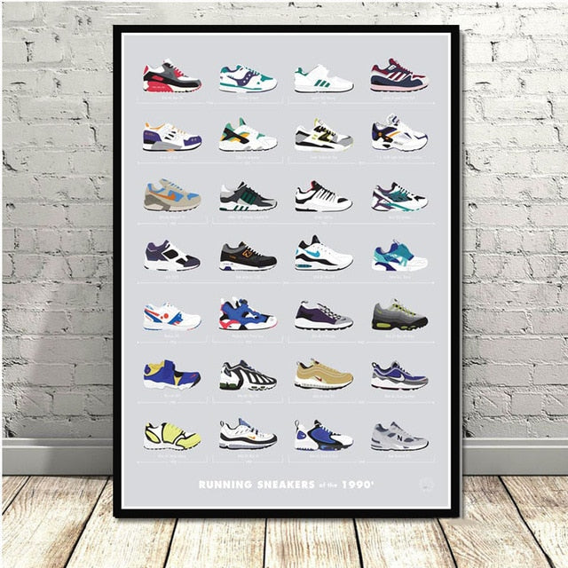 Poster Sneakers 1990