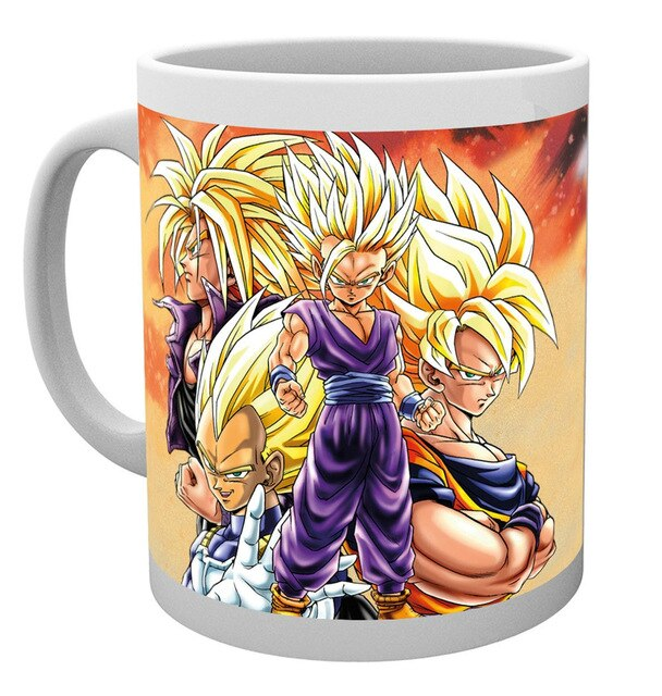 mug dragon ball saiyan