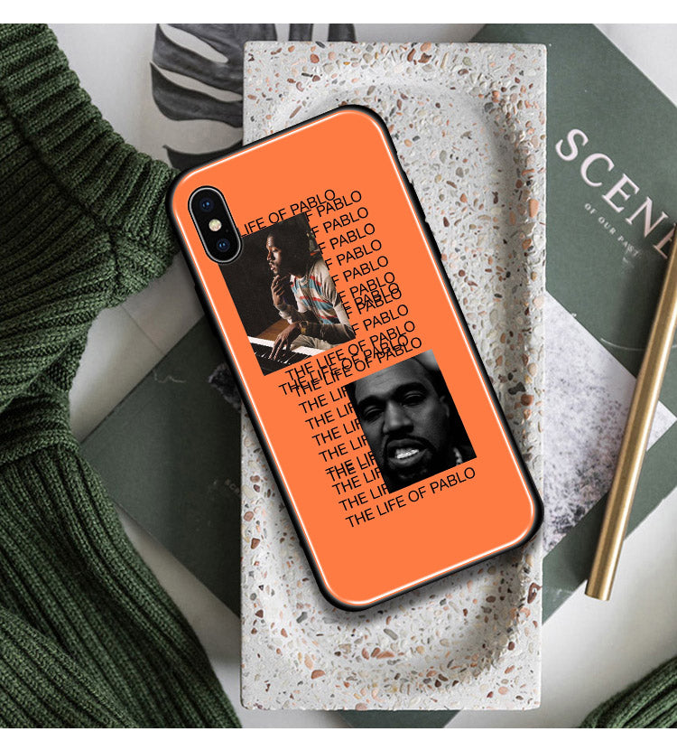 Coque iPhone 'TLOP' Kanye West