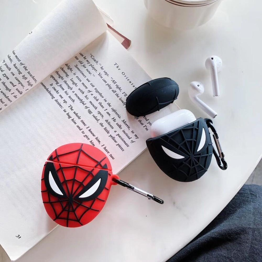 boitier airpod spiderman
