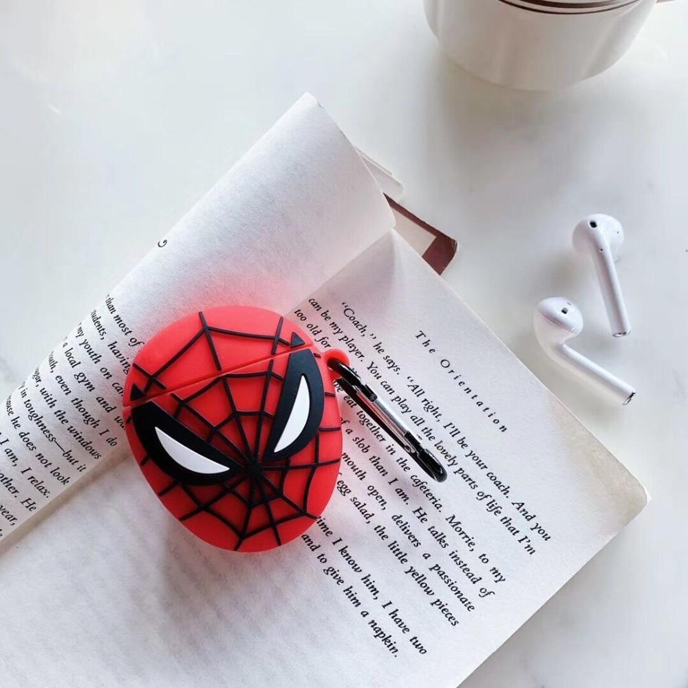 coque airpod spiderman
