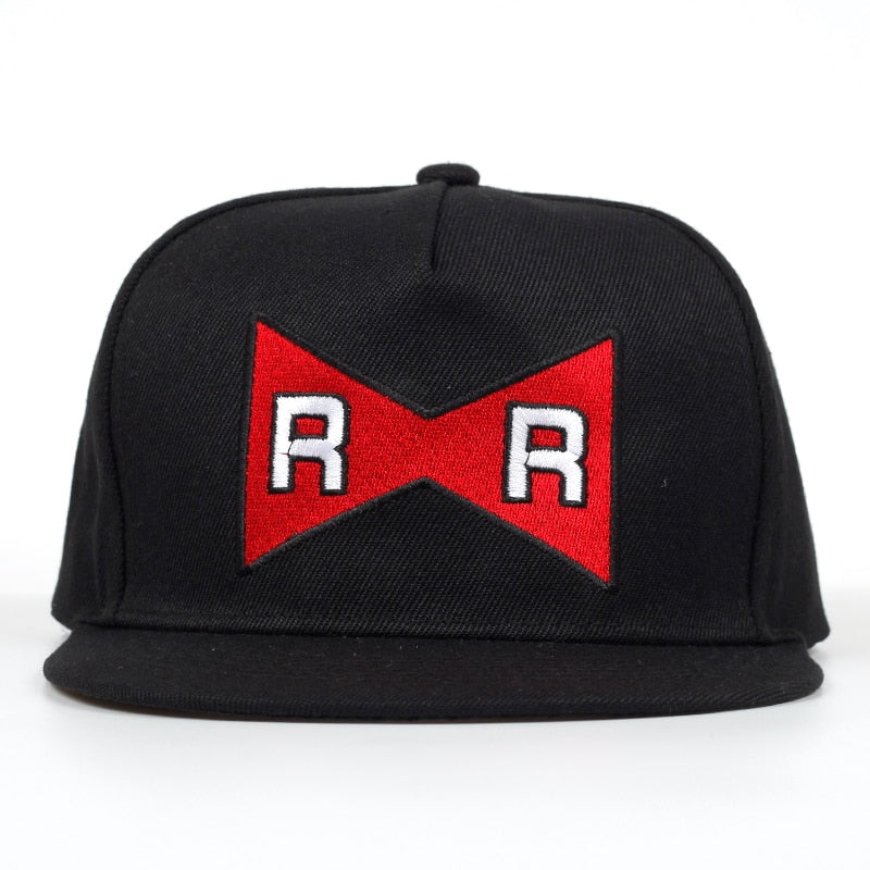 casquette ruban rouge snapback