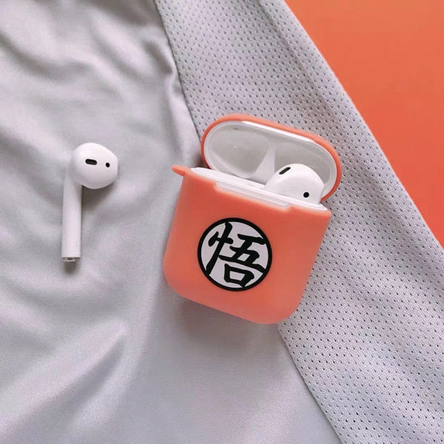 coque airpods orange dragon ball