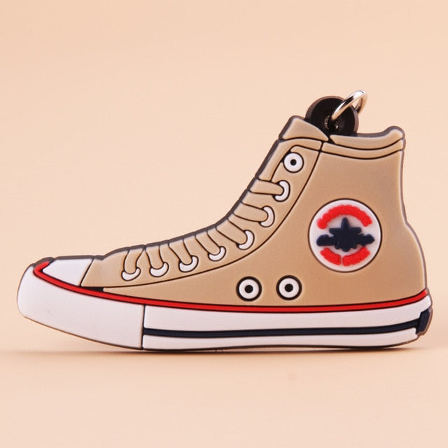 porte clé converse all star beige