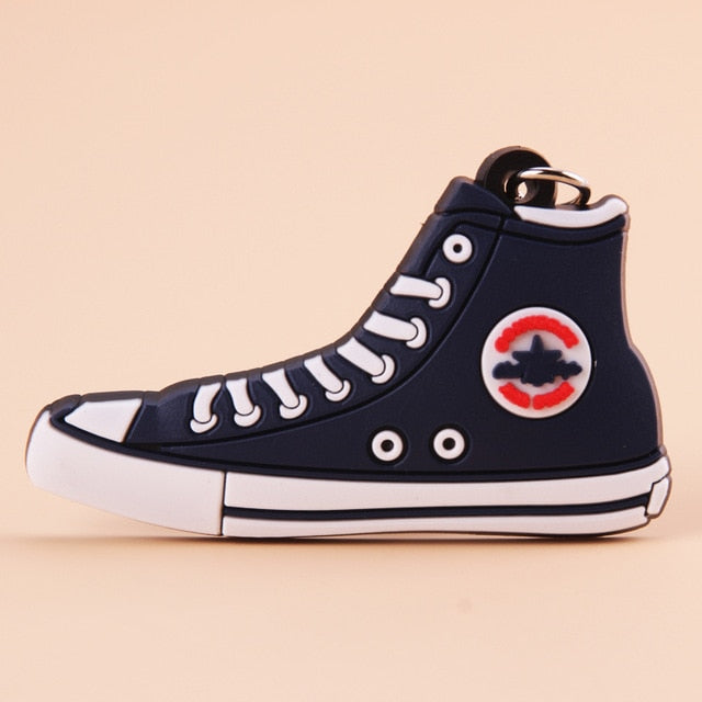 porte clé converse all star navy