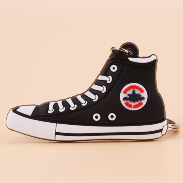 porte clé converse all star noir