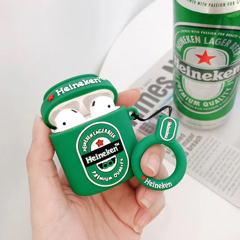Coque Airpods Heineken