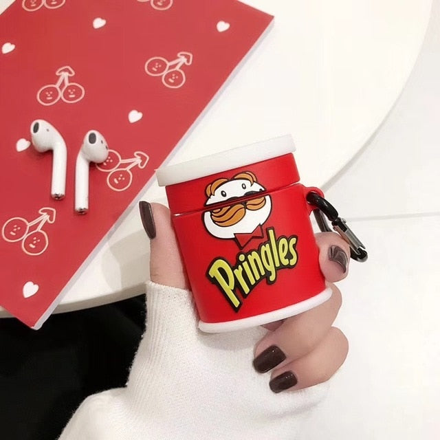 coque airpods pringles