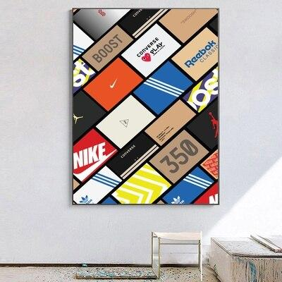 poster boite sneakers