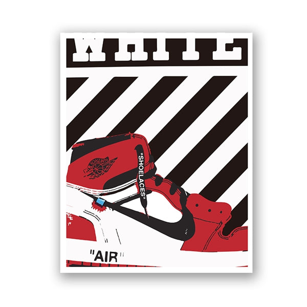 Affiche The Ten Air Jordan 1 x Off-White