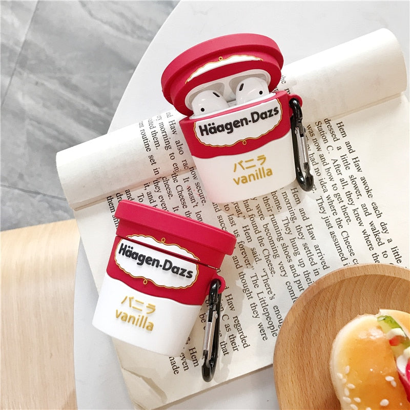 coque airpods ice cream haagen dazs
