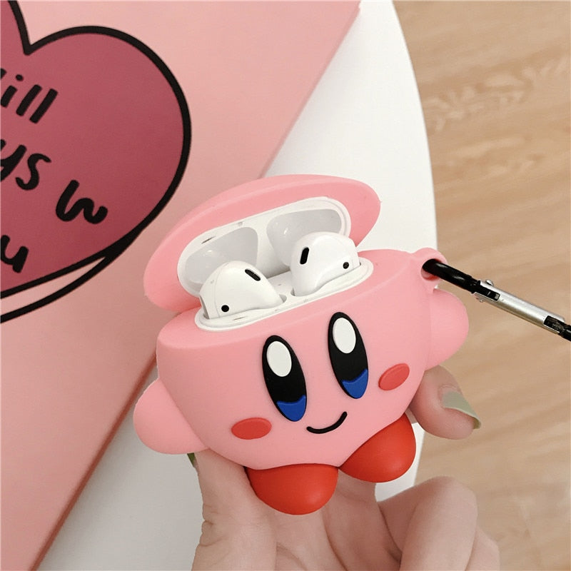 coque apple airpods kirby
