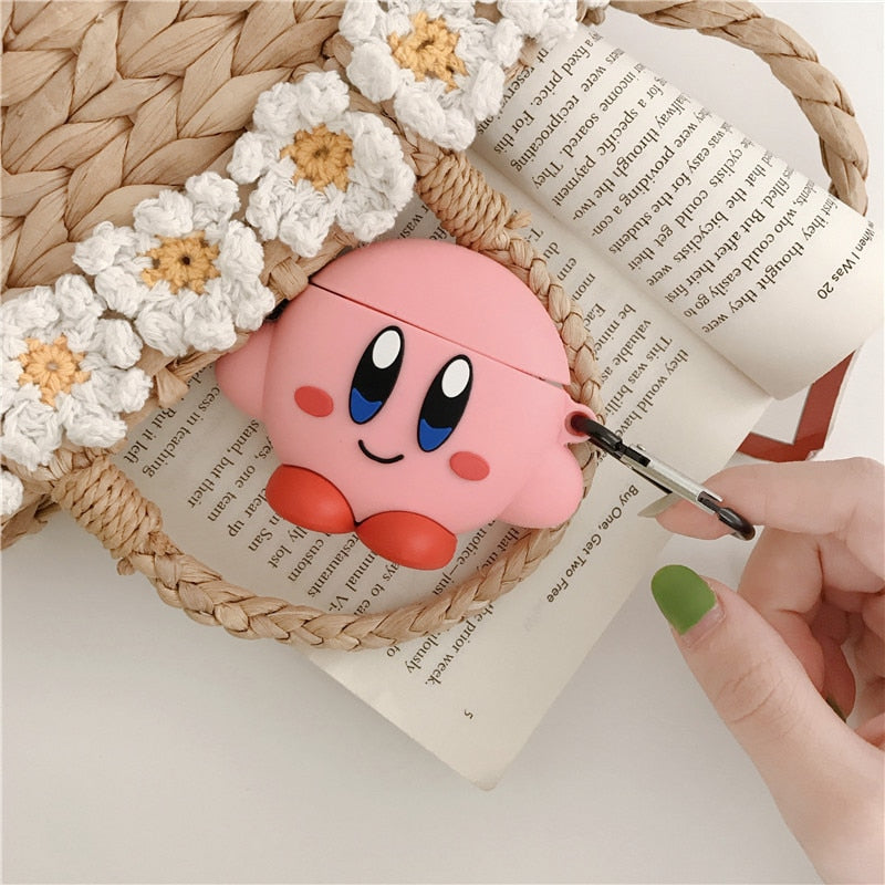 coque airpods rose kirby