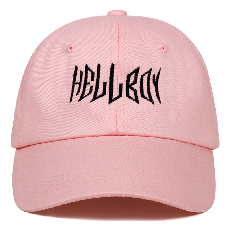 casquette hellboy rose