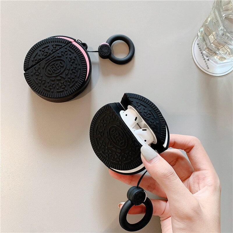 coque airpods Oreo