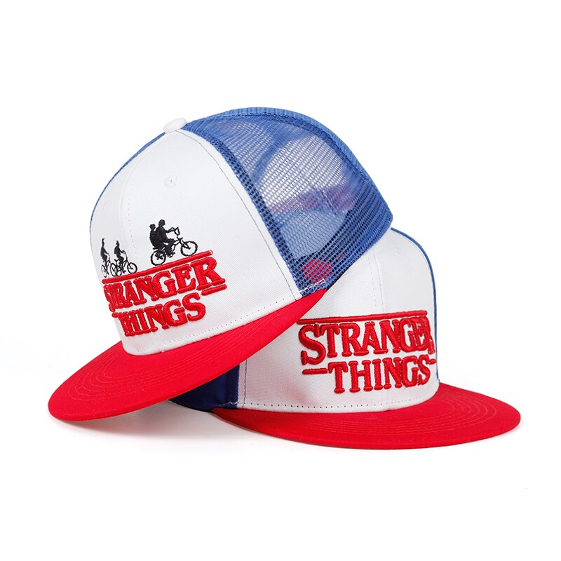 casquette filet stranger things