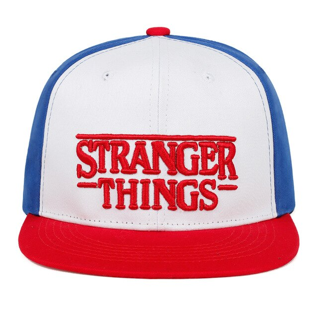 casquette stranger things logo rouge