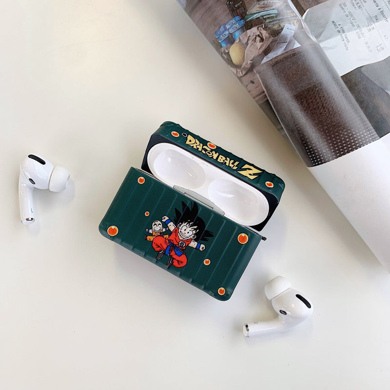 coque airpods pro dragon ball verte