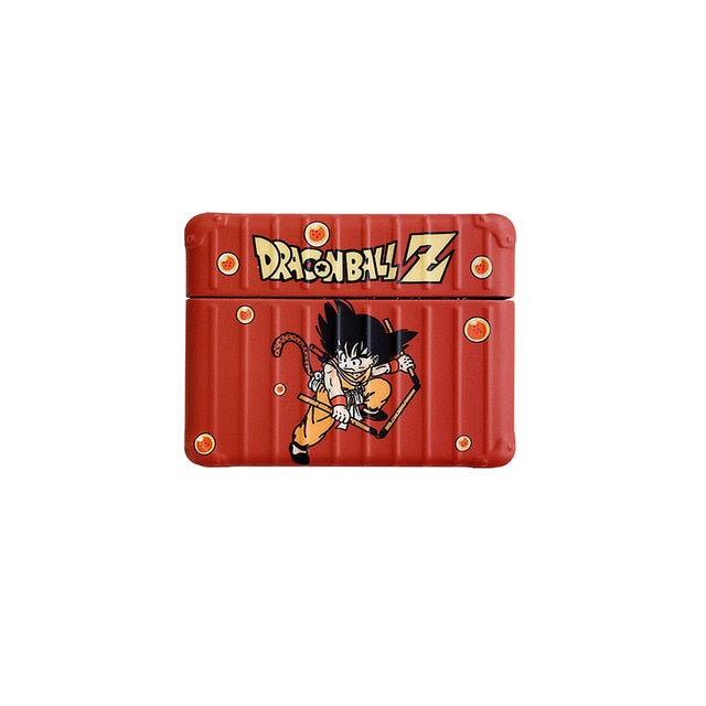 coque airpods sangoku orange brique