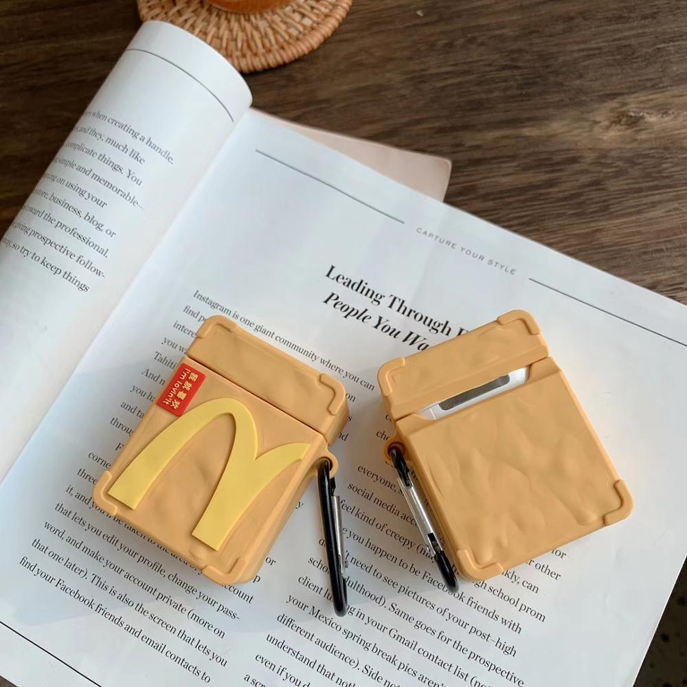 coque airpods mcdo sac kraft