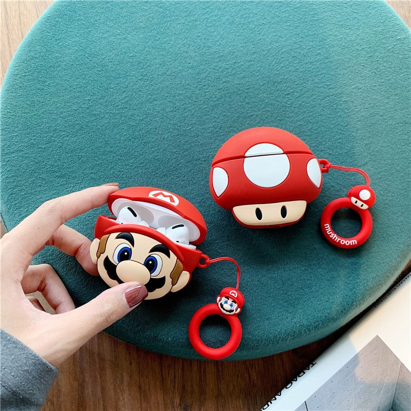 Coque airpods Super Mario