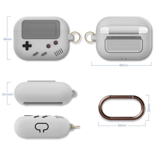 Coque airpods gameboy classic