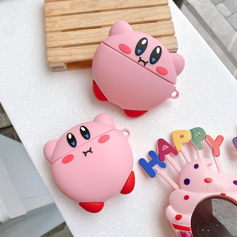 coque airpods big kirby