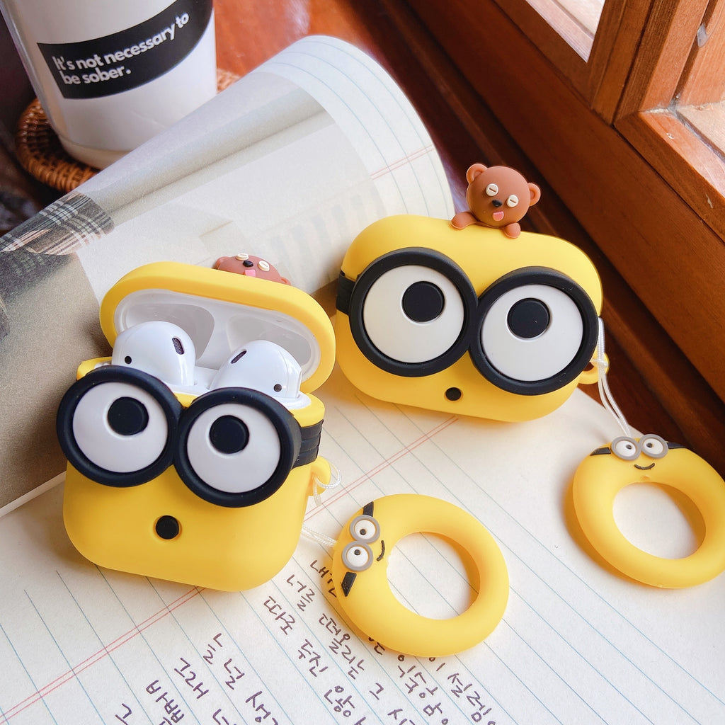 coque airpods minions