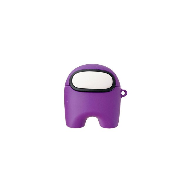 coque airpods pro among us violet