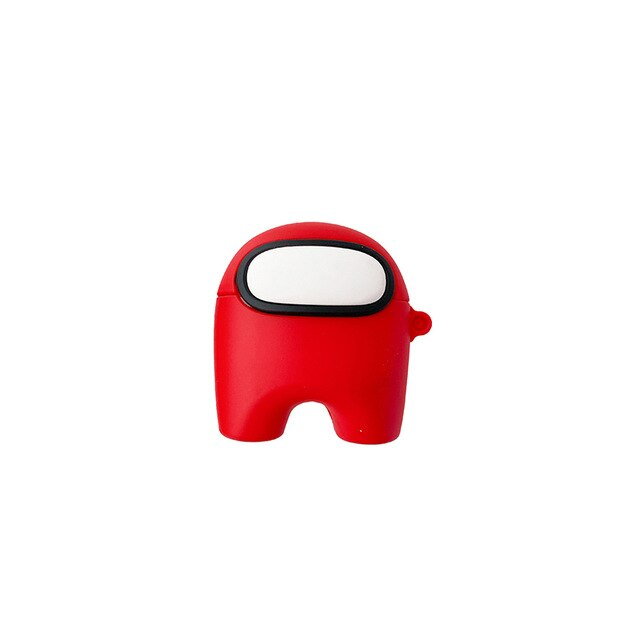 coque airpods pro among us rouge