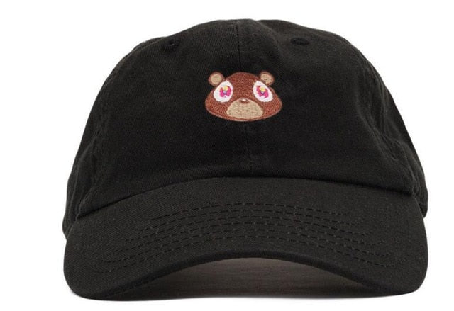 casquette kanye ours