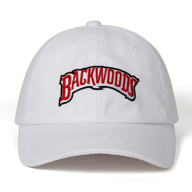casquette backwood blanche