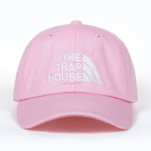 casquette-the-trap-house-rose